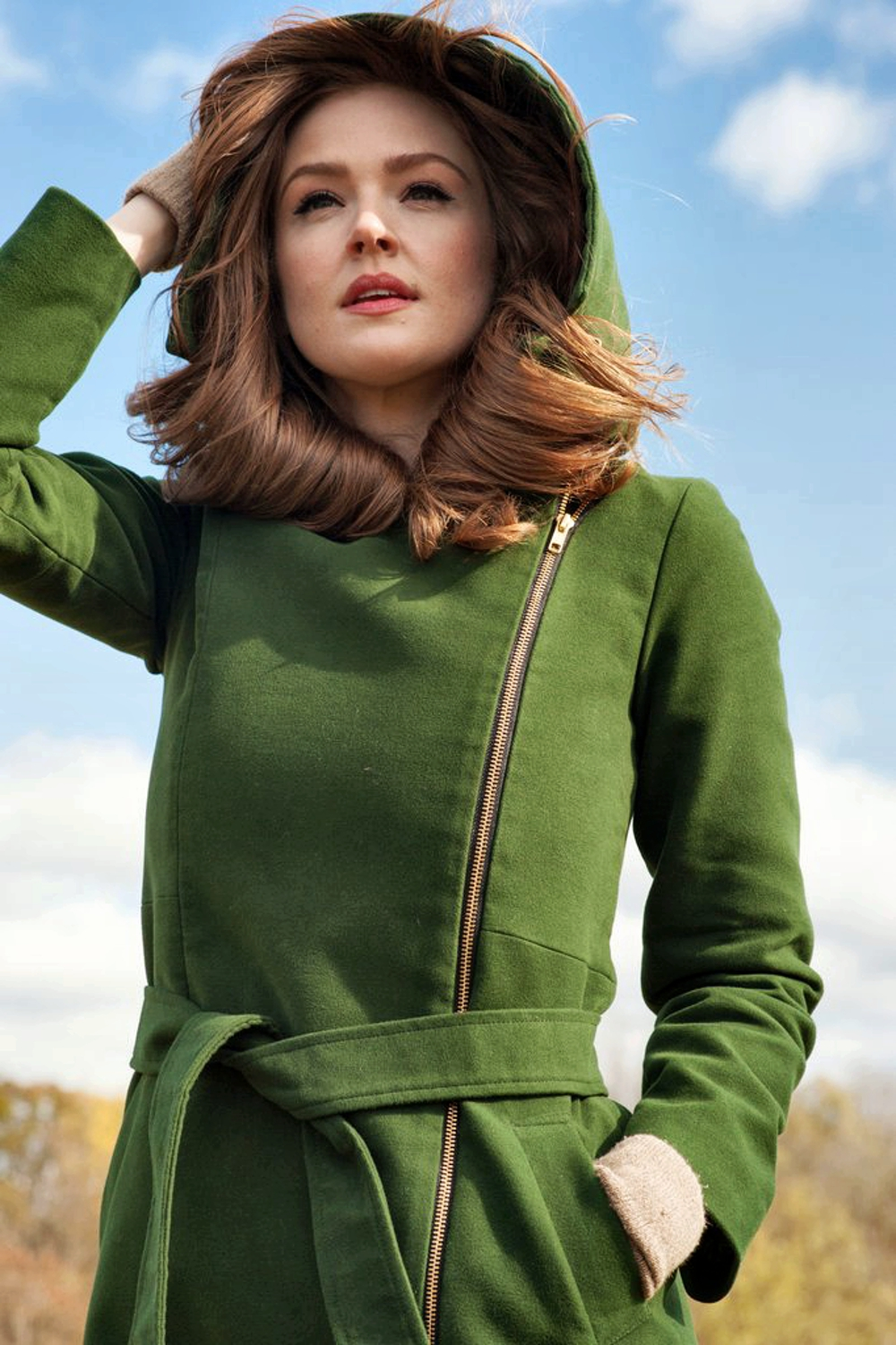 Eco-Friendly Autumn Jackets For Women - The Emily Future green