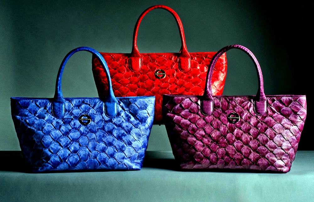 Fish Skin Fashion - 3 luxury bags
