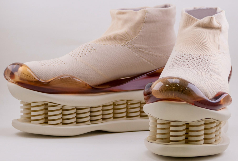 Mikio Sakabe's 3D Printed Shoes - Giddy up pink shoes