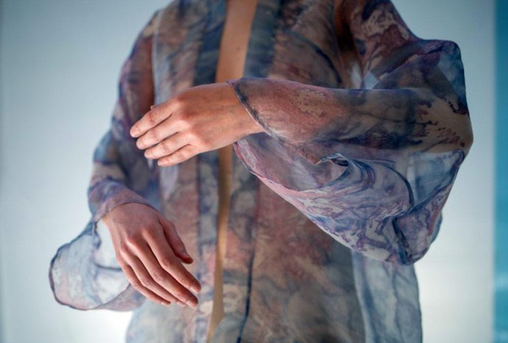 Sustainable Fashion Innovation - biodegradable dress