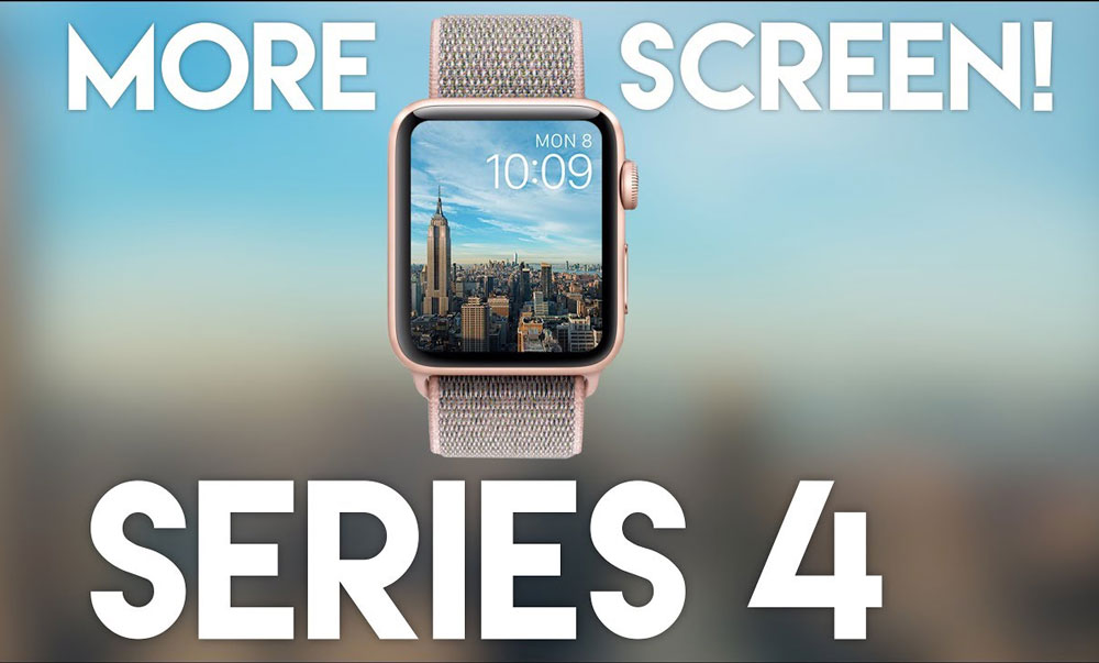 Apple Watch Series 4 large screen