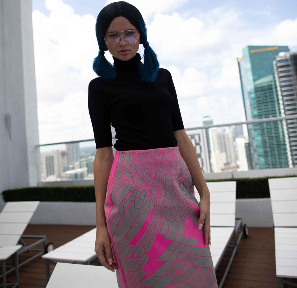 3D Printed Sustainable Fashion - Julia Daviy