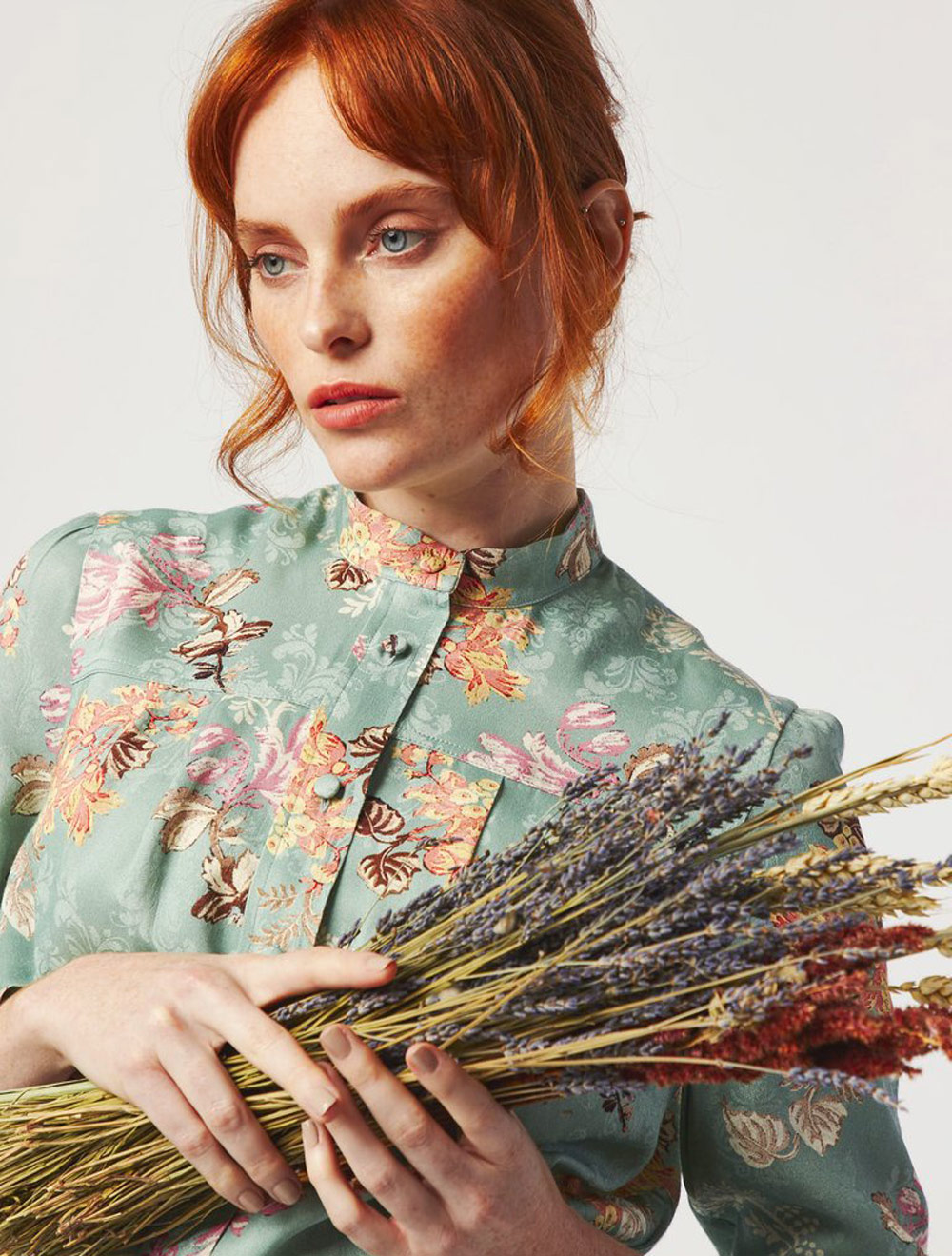 Changing The Face Of Sustainable Fashion - Dagny dress flower print