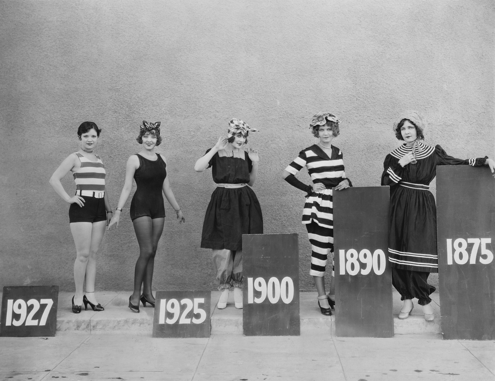 Evolution Of Swimwear - from 1900s to 1920s