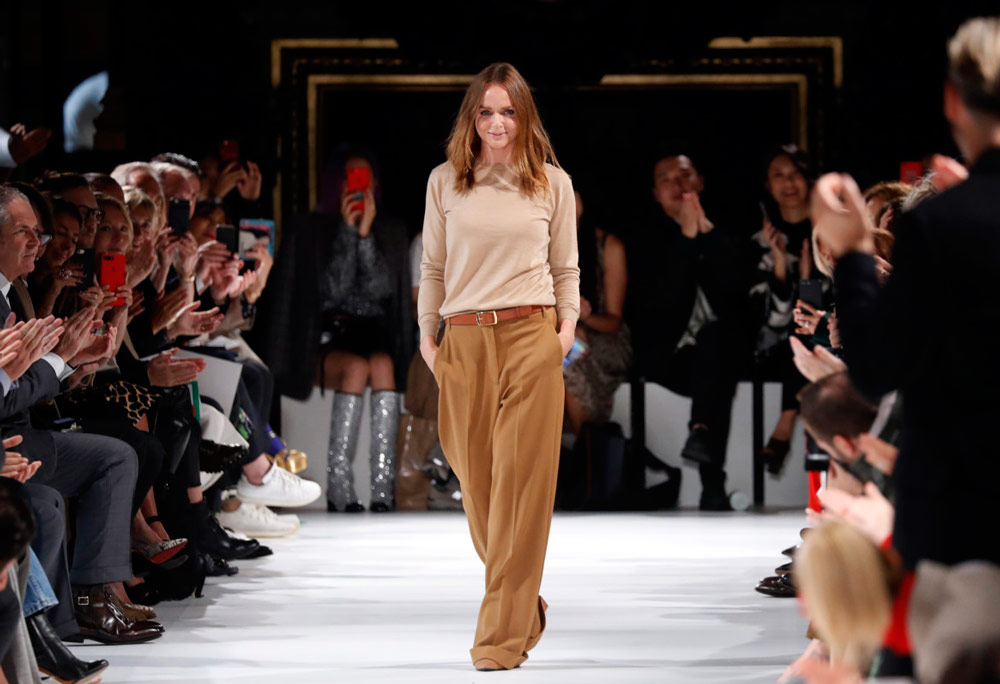Changing The Face Of Sustainable Fashion - Stella McCartney in her 2018 show