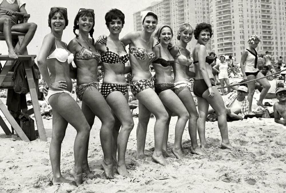 Evolution Of Swimwear - 1960s style