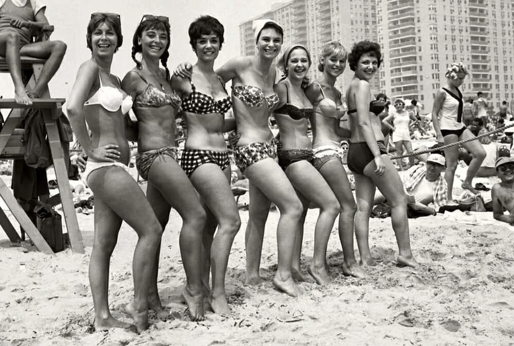 Evolution Of Swimwear - 1960s style