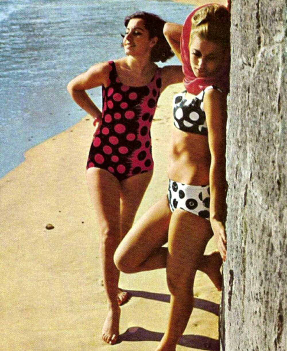 Evolution Of Swimwear - 1970s style