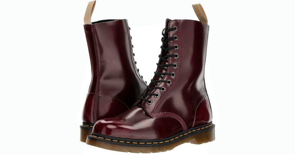 Vegan Boots For Winter - Dr Martens 1490 Cambridge Brush