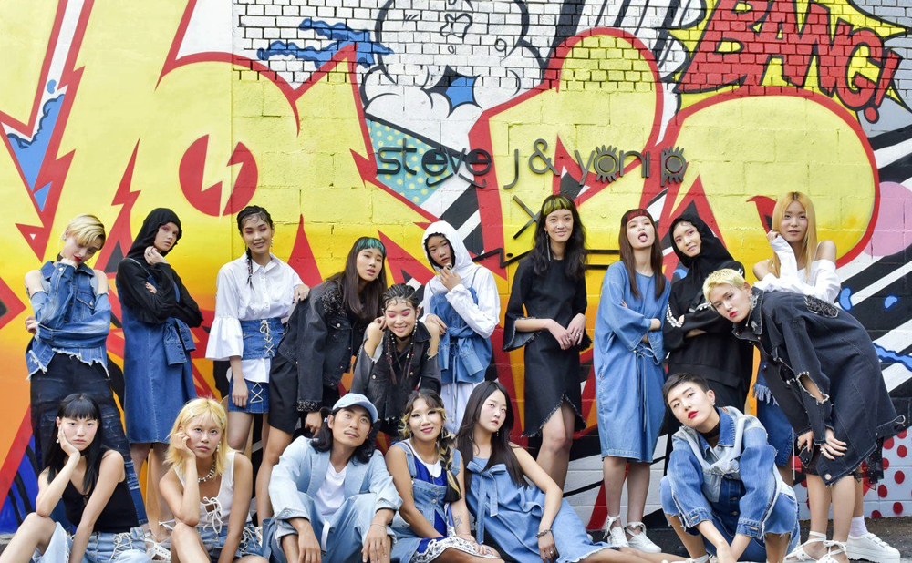AI-designed clothes - SJYP designers