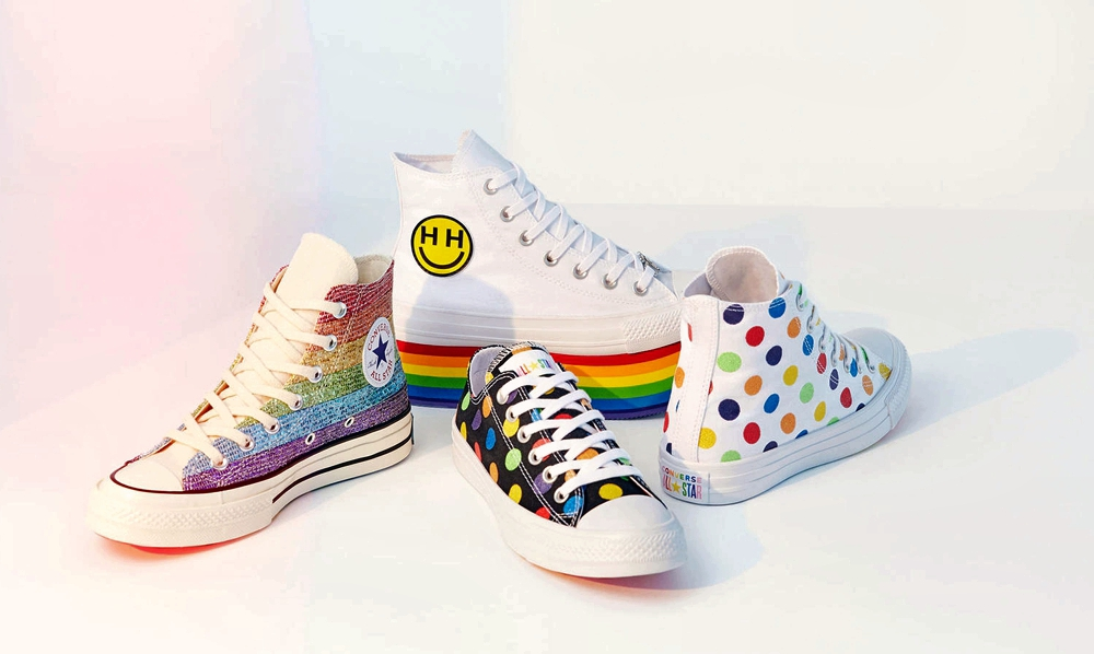 Miley Cyrus Converse Pride Collections - vegan shoes