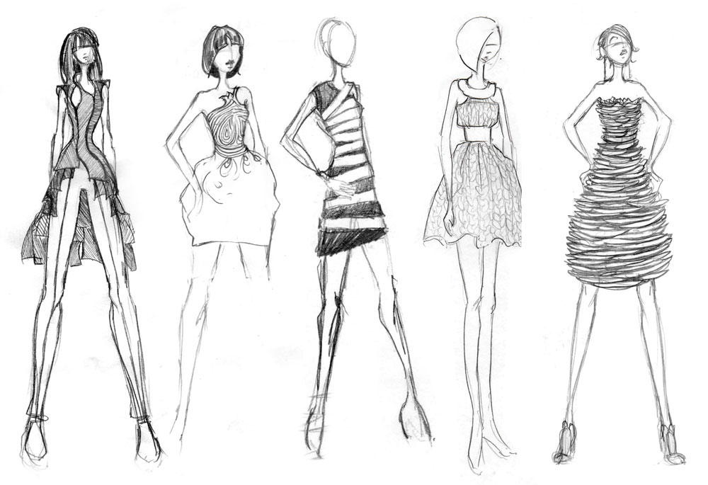 ai-fashion-designer fashion sketches