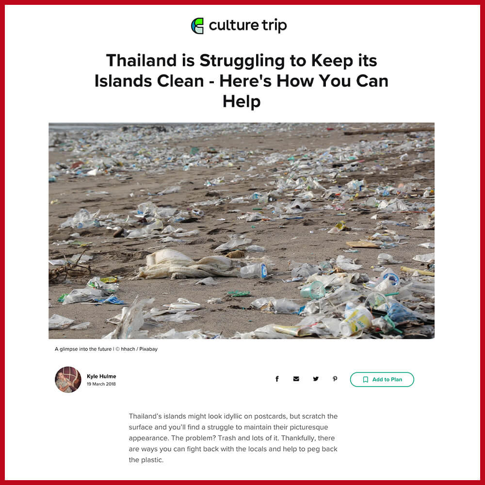 Phi phi island plastic pollution