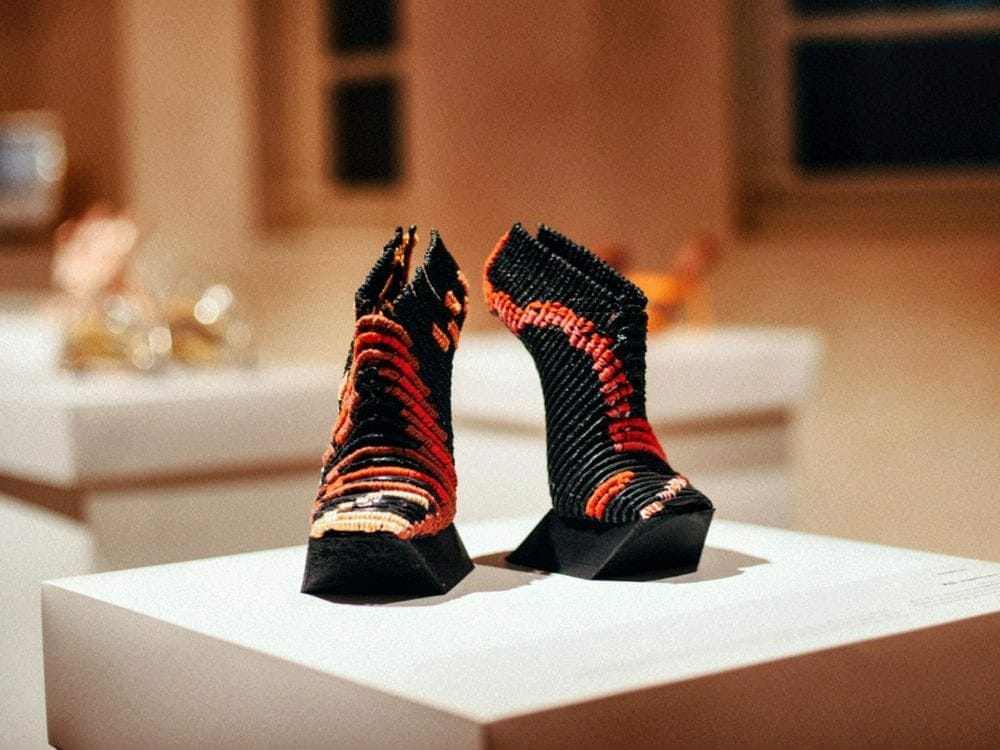 Ganit Goldstein 3D printed shoes