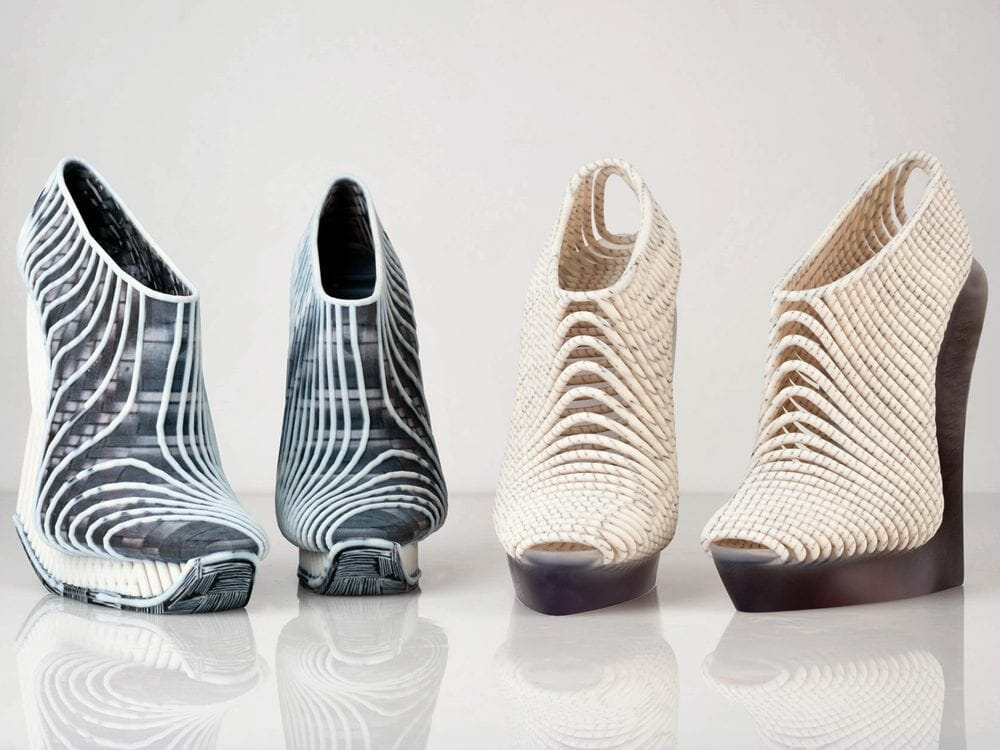 Ganit Goldstein 3D printed shoes collection