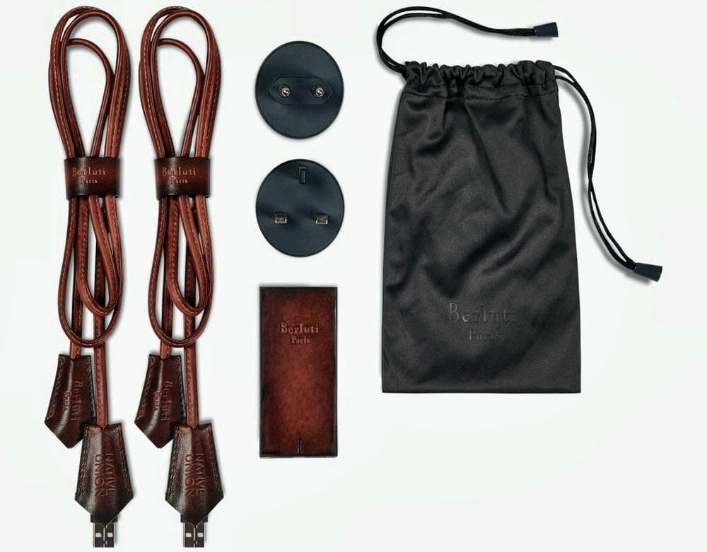 Berluti Tech accessories by NATIVE UNION