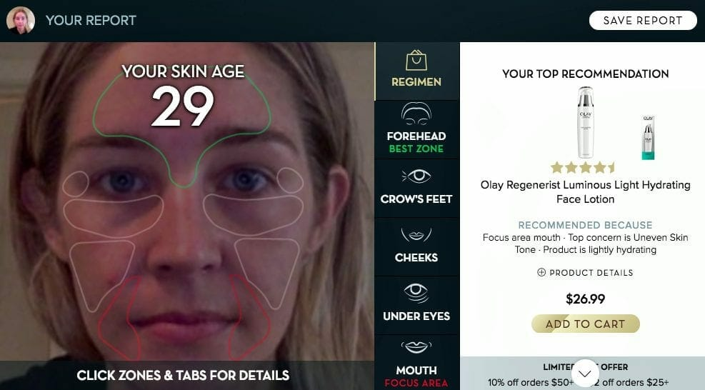 Olay beauty innovations at CES 2019 - skin advisor
