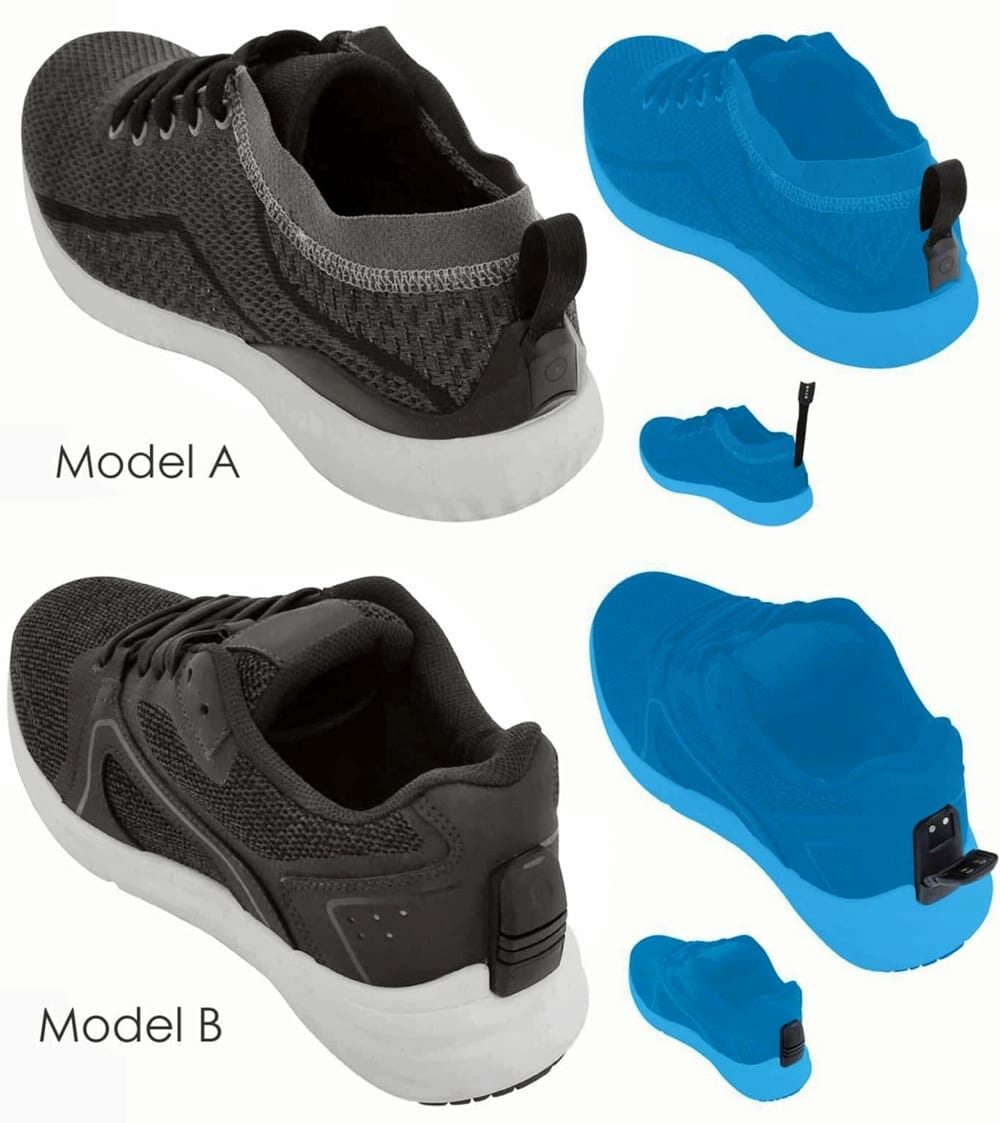 Samsung Galaxy Smart Shoes Model A and Model B