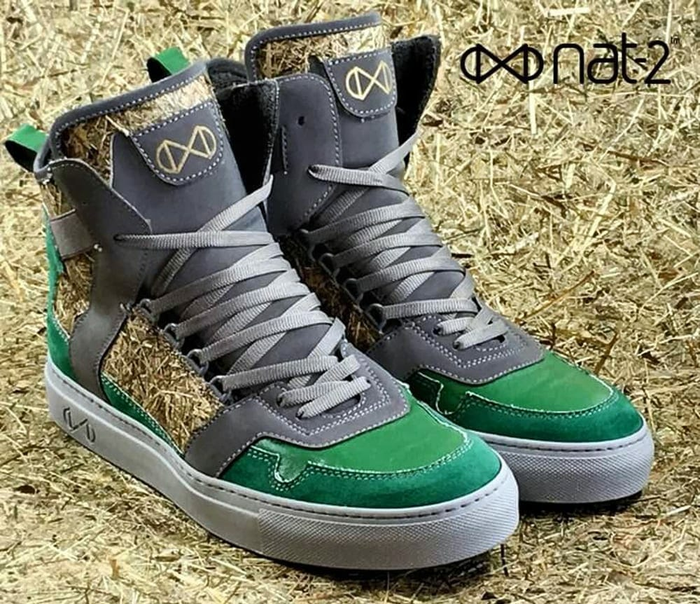 nat-2 vegan High-Top sneakers