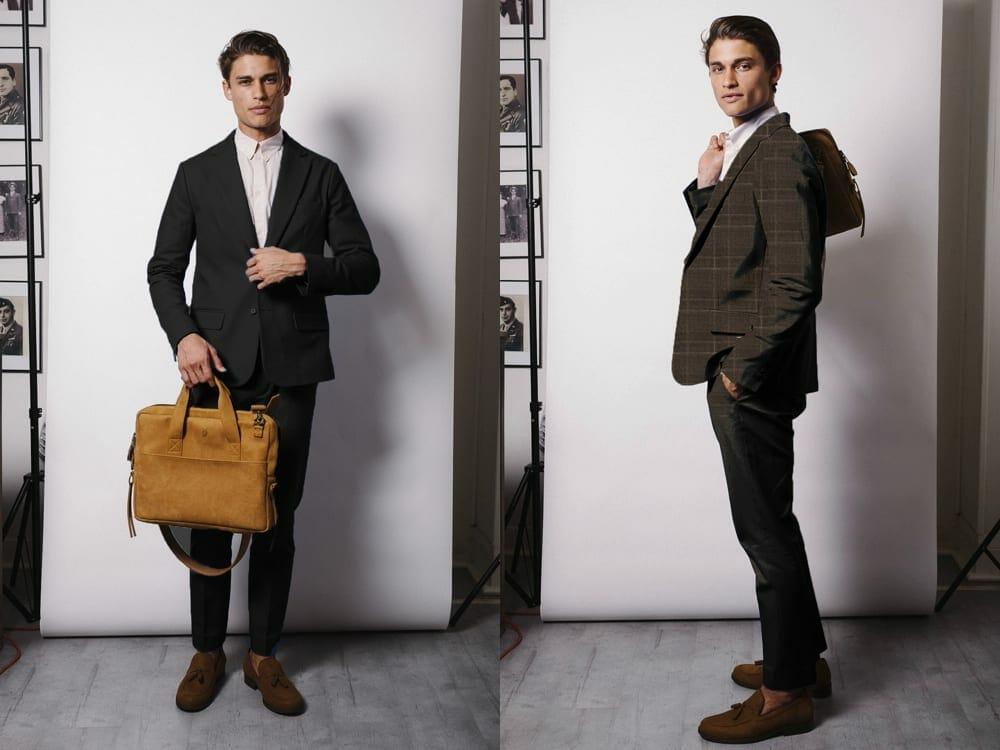 Gentlemen Luxury Vegan Suits Collection From Italian Bamboo
