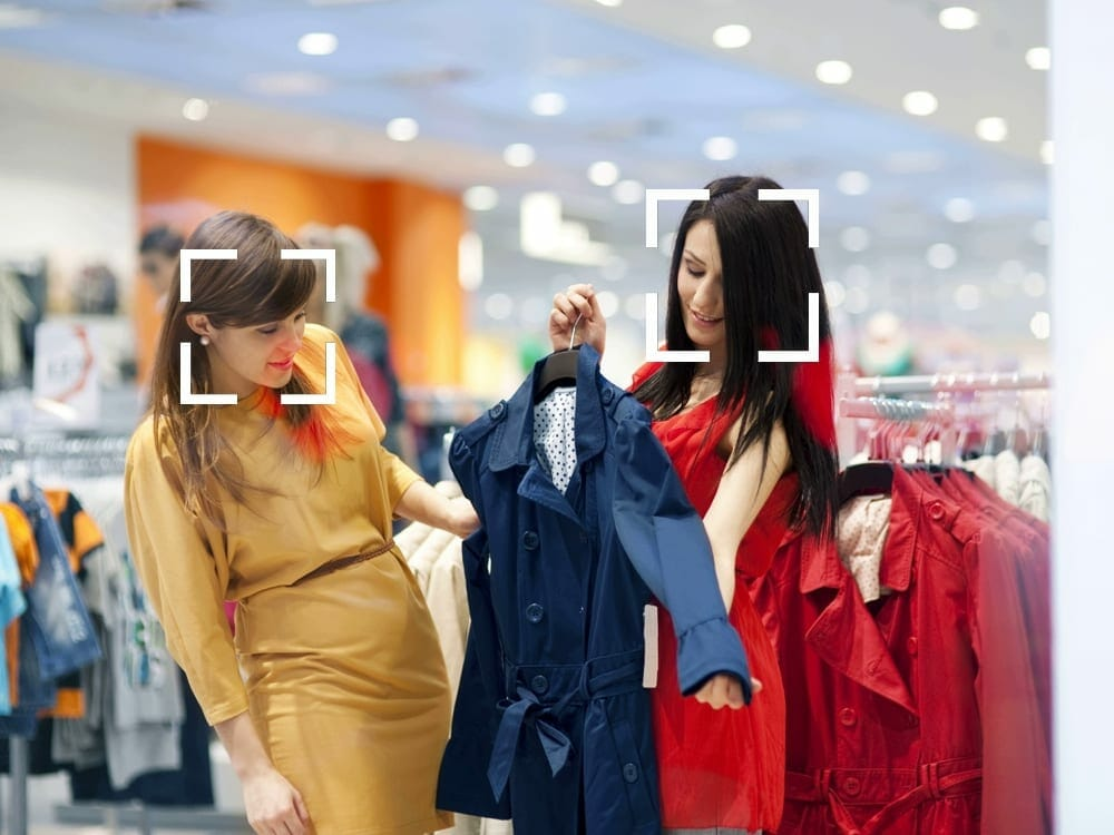 Face recognition in fashion retail