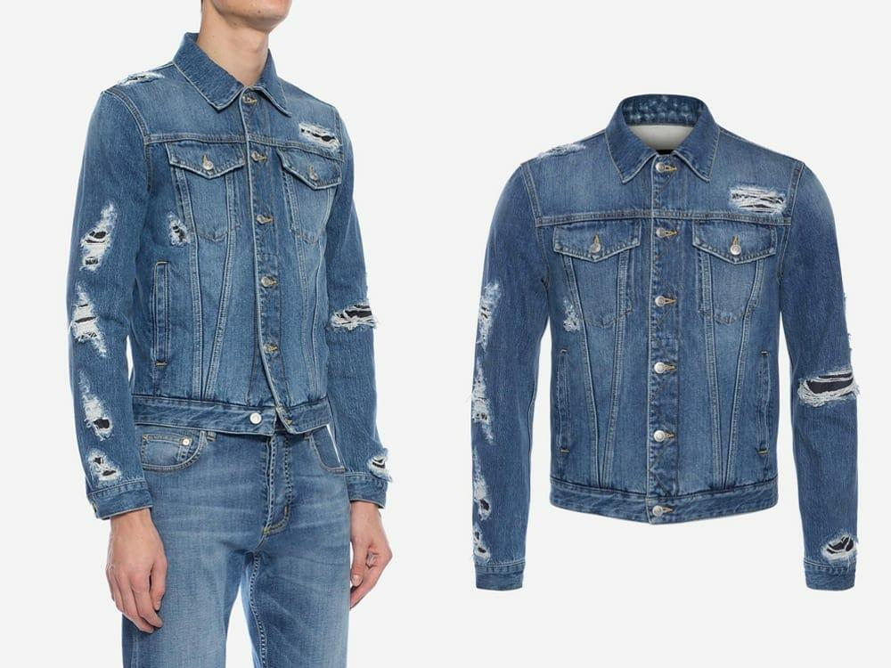 Alexander McQueen Vegan Japanese Selvedge Denim Jacket
