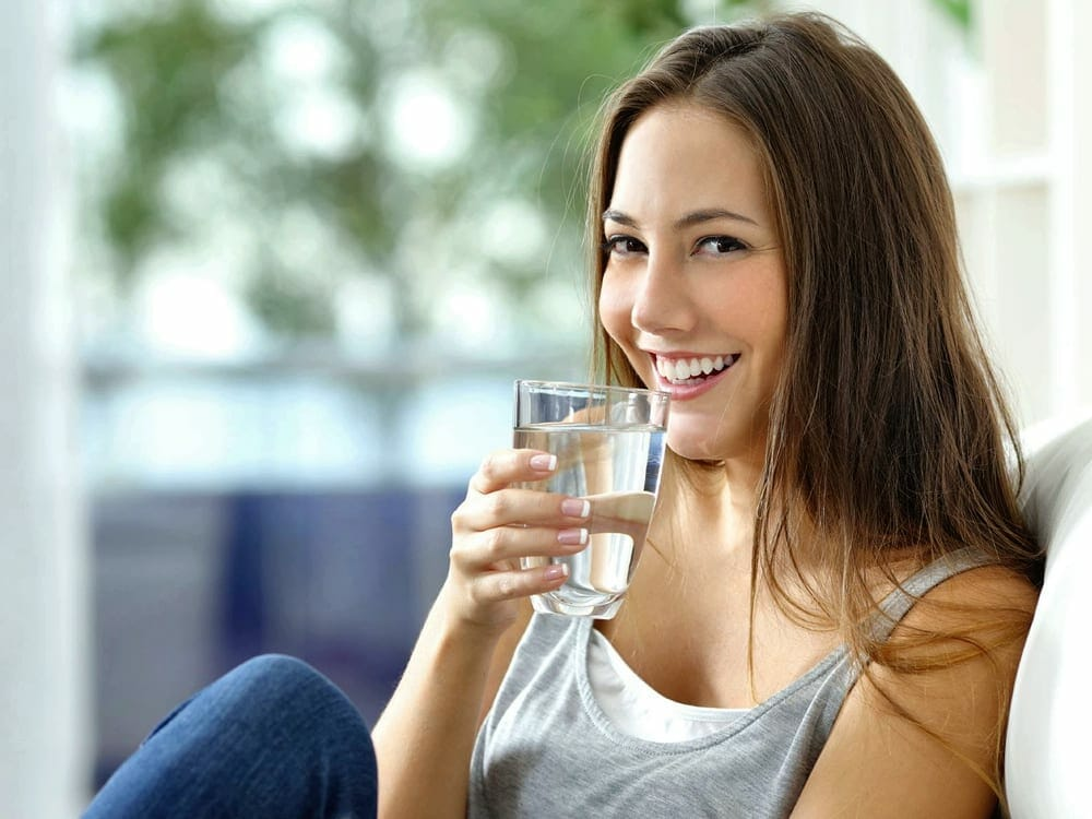 Drinking water is a key factor in a healthy lifestyle