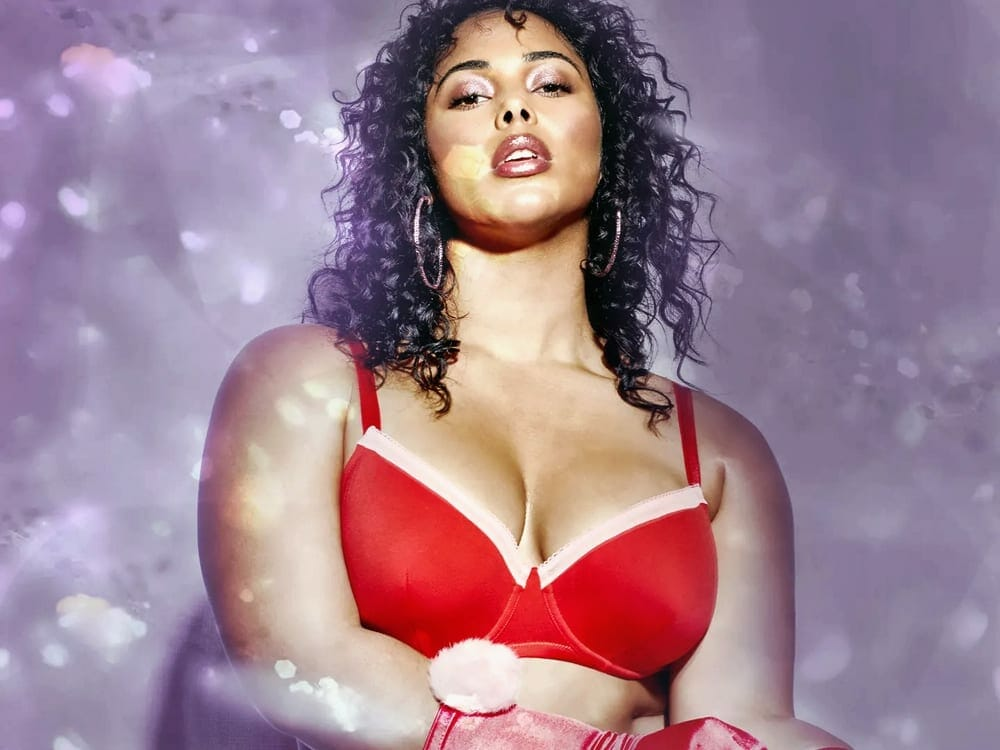 Rihanna's valentine lingerie collection includes curve+