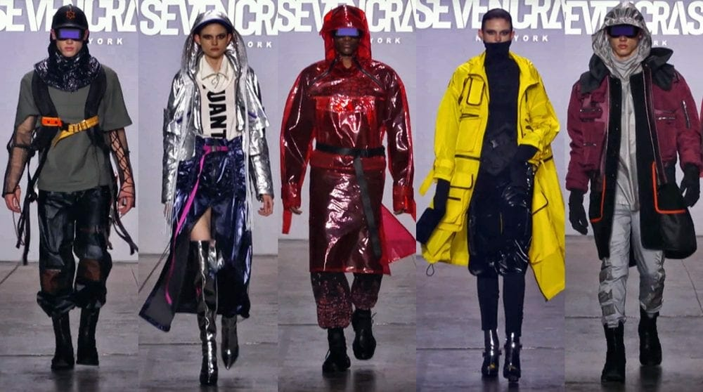 Seven Crash Quantus collection at NY Fashion Week 2019