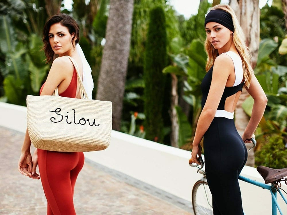 Silou London chic sustainable activewear for women