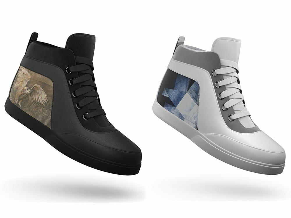 Shiftwear high tech sneakers