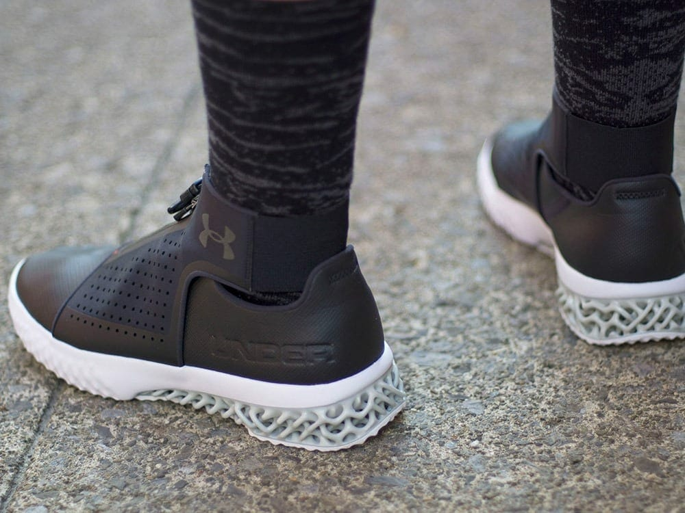 ArchiTech Futurist 3d printed sneakers by Under Armour