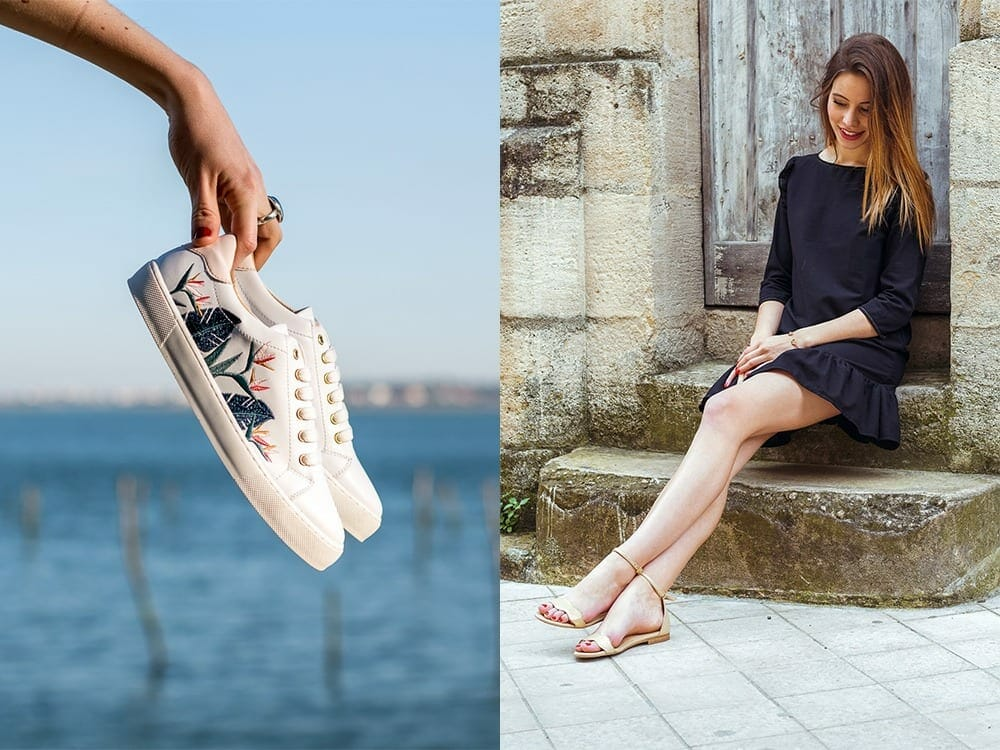 Vegan shoes and bags by Minuit Sur Terre from Paris
