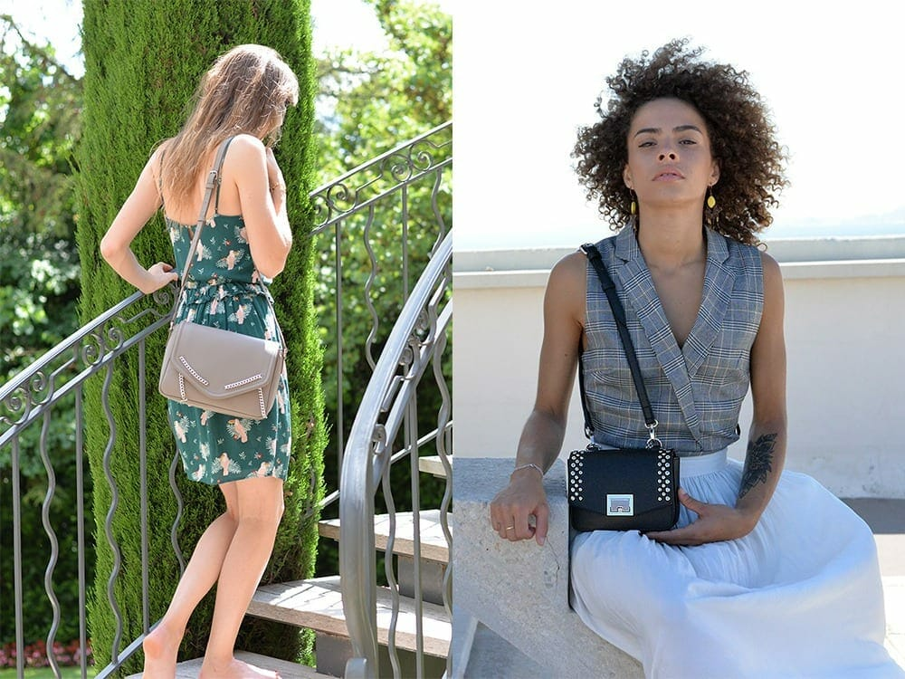 Vegan bags by Jean Louis Mahe
