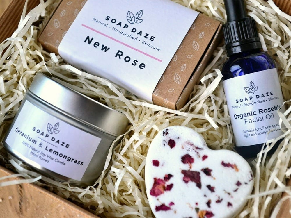 Soap Daze eco-friendly beauty products