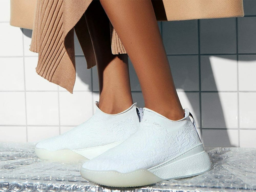 Vegan streetwear shoes with Stella McCartney