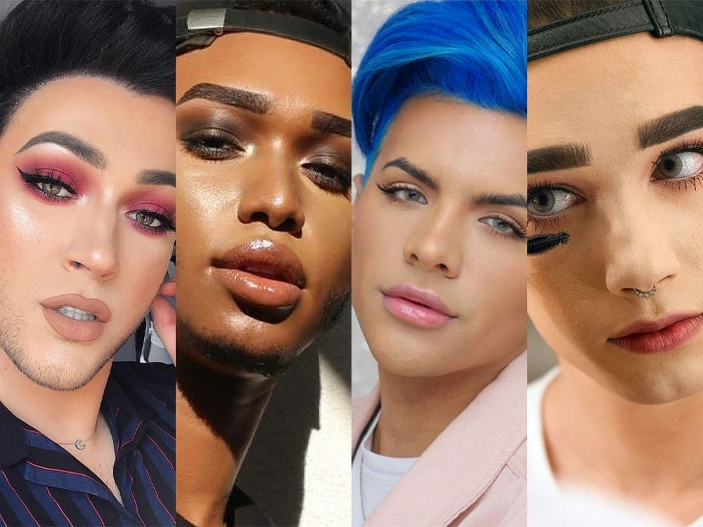 Social media influencers for men makeup