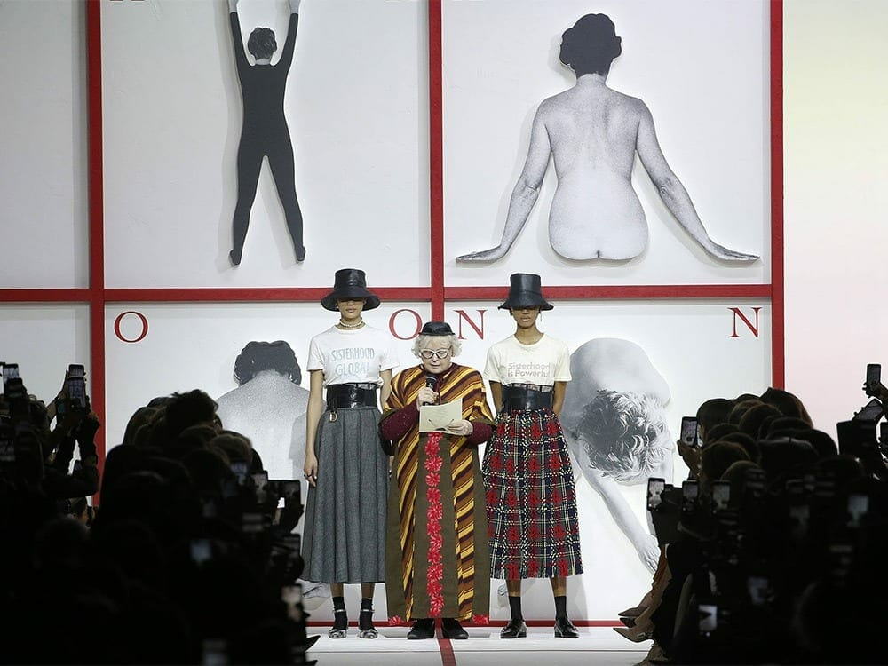 Empowerment of Womenswear at Paris Fashion Week FW 2019 by Dior