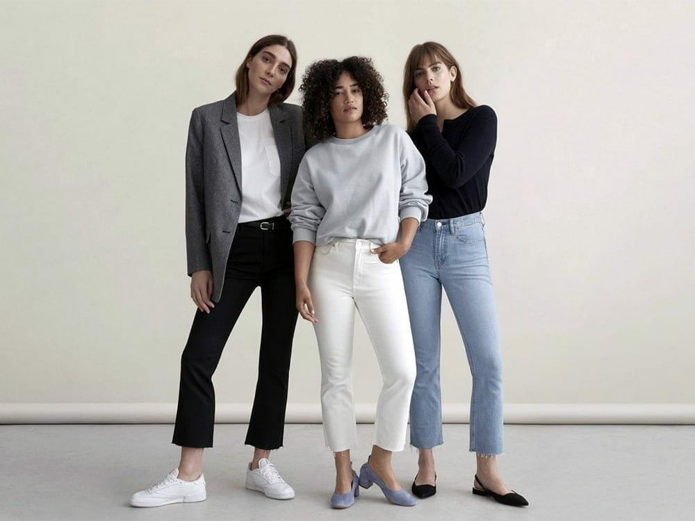 Everlane ethical clothing fashion