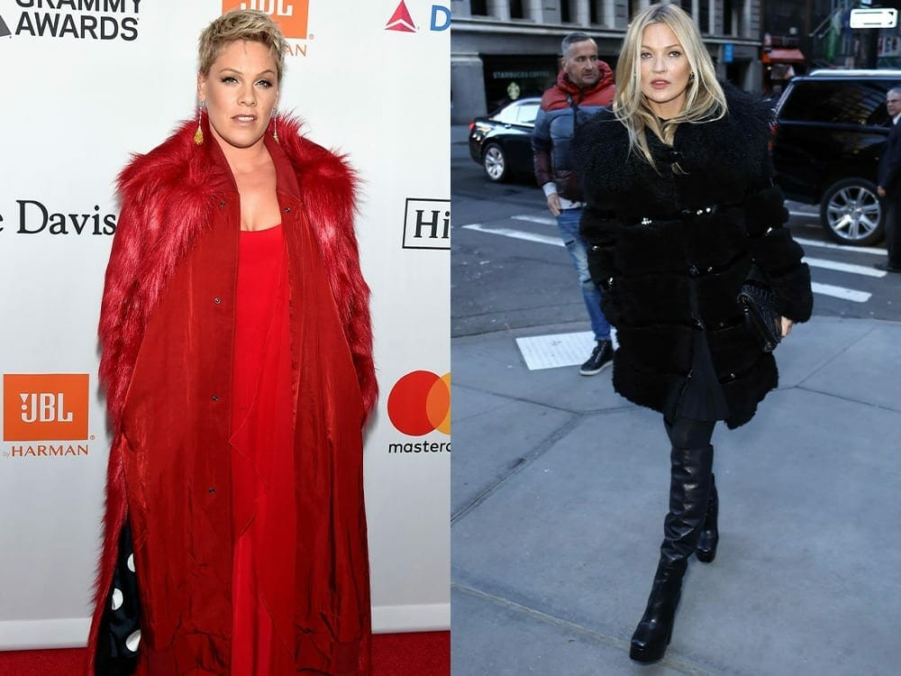 This Is Why Kate Moss And PINK Love Maison Atia\'s Vegan Fur Coat
