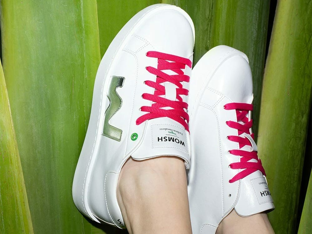 Womsh vegan eco friendly trainers