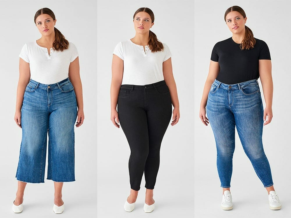 DL1961 plus size vegan clothing