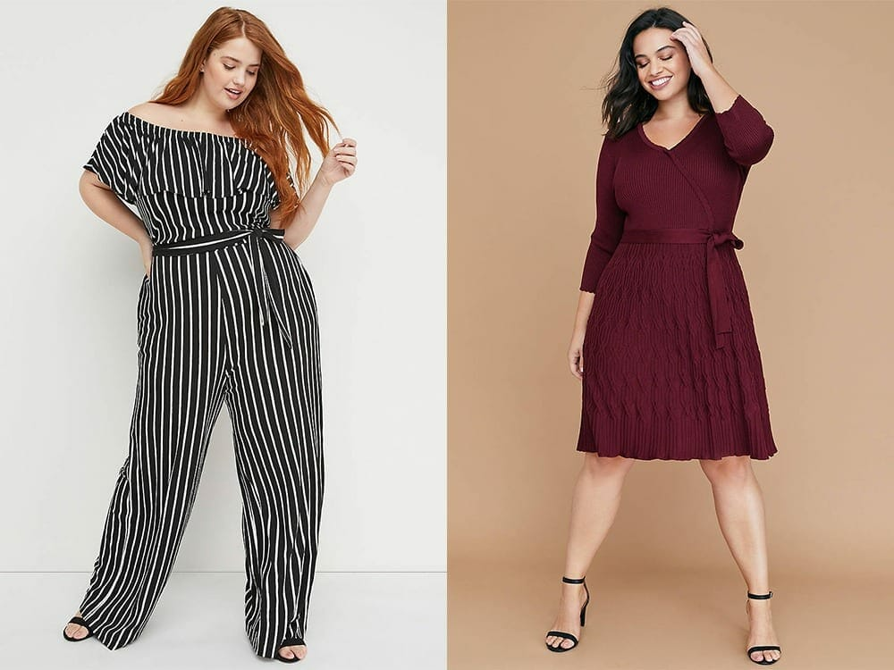 Lane Bryant plus size vegan clothing