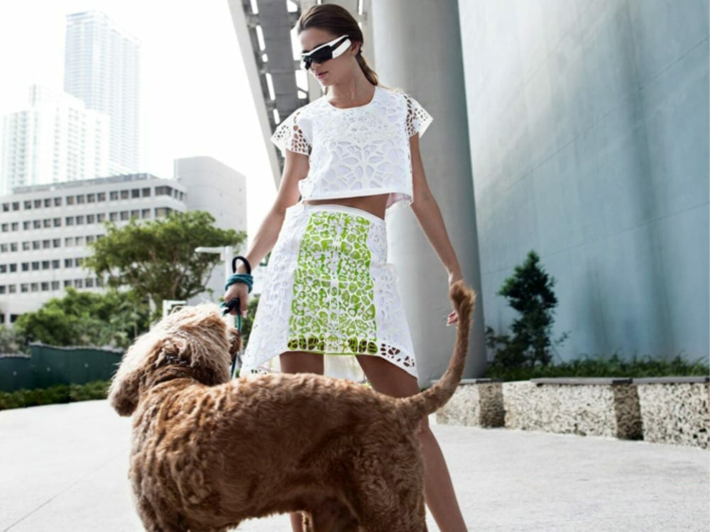 Julia Daviy 3d printed skirts