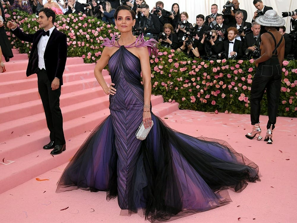 Katie Holmes 3d printed dress at Met Gala 2019