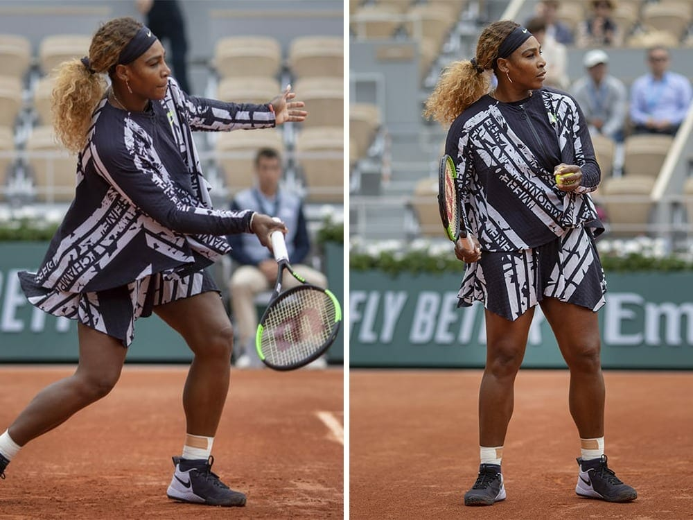 Serena Williams Open French 2019