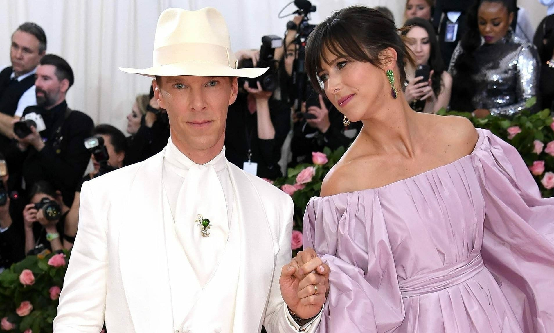 Vegan Benedict Cumberbatch at Met Gala 2019