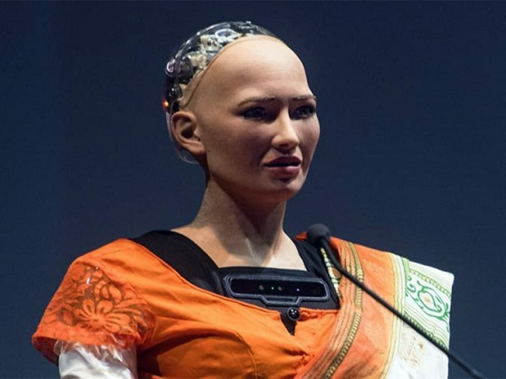 Sophie the first AI with personhood