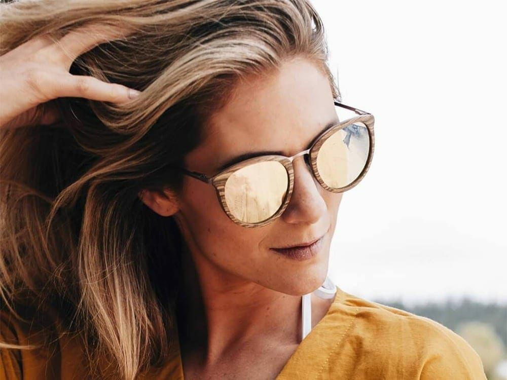 Proof Eyewear Sustainable Wooden Sunglasses