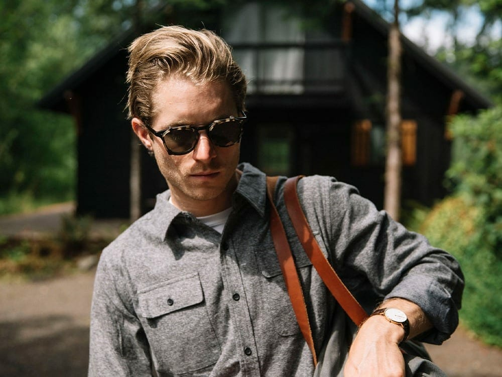 Shwood sustainable wooden sunglasses